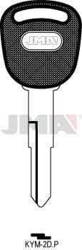 Amazon.com: KYM-2DP JMA/KYMCO Key Blank: Industrial & Scientific