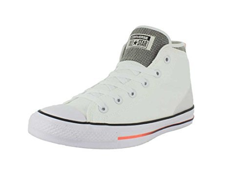 dd9c875855471d Galleon - Converse Chuck Taylor All Star Syde Street Mid Fashion Sneaker  Shoe - White Black Orange - Mens - 12