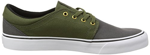 Multicolore Grey Green Sneakers DC Basses Shoes Homme Black Trase TX qPYw01R