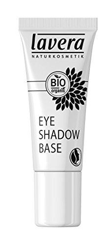 lavera Eyeshadow Base Transparent ∙ Lidschatten Grundierung ∙ schnelltrocknende Textur ∙ Natural & innovative Make up ✔ vegan ✔ Bio Pflanzenwirkstoffe ✔ Naturkosmetik ✔ Augen Kosmetik 1er Pack (1 x 9 ml)