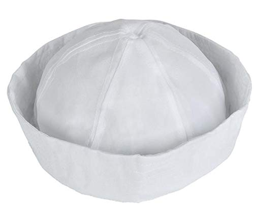 Universal Affect - White Sailor Hat Navy Costume
