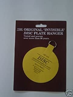 Original disque plaque Hanger 75 mm Pack de 5