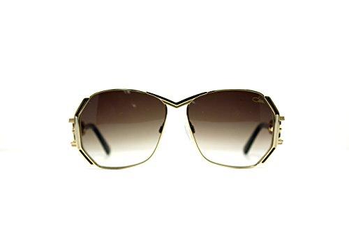 100% Authentic Cazal Eyewear 225 Sunglasses Color: 003 Brown/creme/gold Size: - Authentic Wholesale Sunglasses