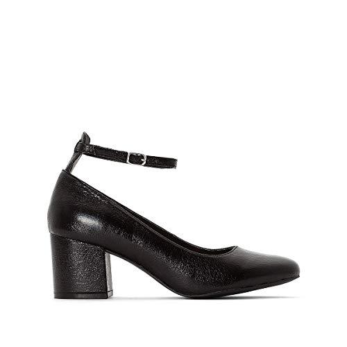 Tacco Alla Ballerine Mademoiselle Cinturino Caviglia Donna R Redoute Con Nero La 8qCYAA