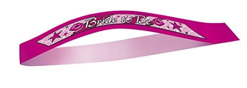 Pink Bachelorette Party Bride Sash