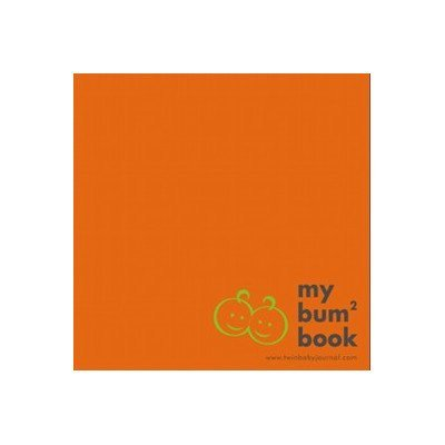 Stuff 4 Multiples Twin Baby Journal, Orange (Discontinued by Manufacturer)