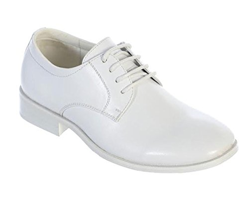 Avery Hill Boys Shiny or Matte Patent Leather Shoes Wh Matte BigKid -