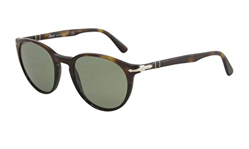 Persol Men's 0PO3152S Tortoise Brown Black/Green One ()