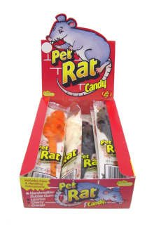 Jelly Belly Gummi Rats Large Wrapped - 12 / Box