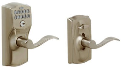 Camelot Lever Electronic Keypad Entry Lock