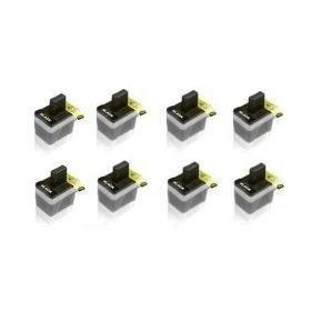 1840c Inkjet (Brother Compatible LC41 Black 8-Pack Ink Cartridge Value Pack - Brother MFC 210C,420cn,620cn,3240c,3340cn,5440cn,5840cn,1840c,2440c,1940cn)