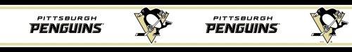 NHL Pittsburgh Penguins Self-Stick Hockey Wall Border Roll