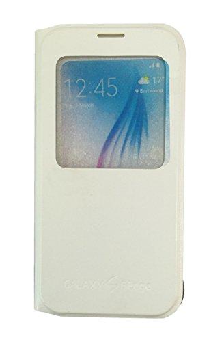 Sun Mobisys Flip Cover for Samsung Galaxy S6 Edge White