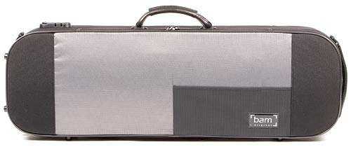 Bam Stylus 5001S 4/4 Violin Case with Black Exterior and Silver Interior by Bam France (Image #2)