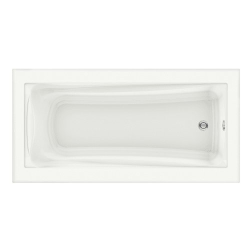 American Standard 3573.002.020 Green Tea 6′ x 36″ Soaking Bath Tub, White
