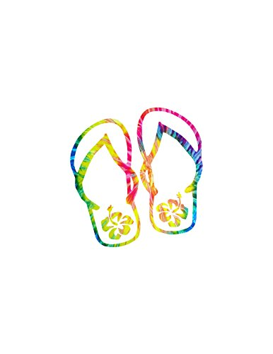 Flip Flops Tye Die / Yeti decal