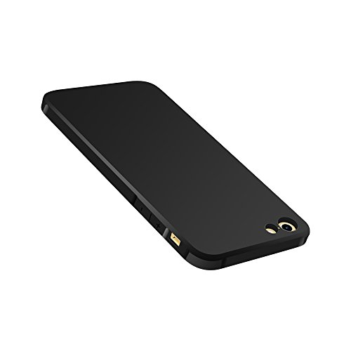 iPhone 6s/6 Plus Case, Asstar Shock-Absorption Soft TPU Bumper Cover Anti-Scratch Anti-slip High Impact Resistant Hybrid Protective Cover for Apple iPhone 6s/ 6 Plus 5.5 Inch (Black) Designer Card Box