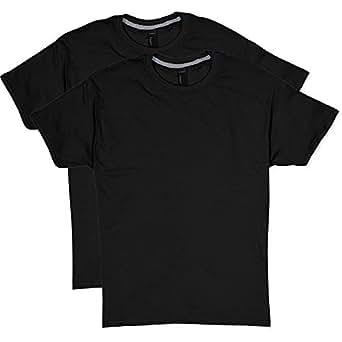 Hanes Men's 2 Pack X-Temp Performance T-Shirt, Black, Small