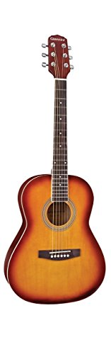 Giannini Guitars GS-36 TS Rosewood Fingerboard Acoustic Guitar, Tobacco Sunburst