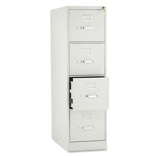 HON – 310 Series Four-Drawer, Full-Suspension File, Letter, 26-1/2d, Light Gray 314PQ (DMi EA