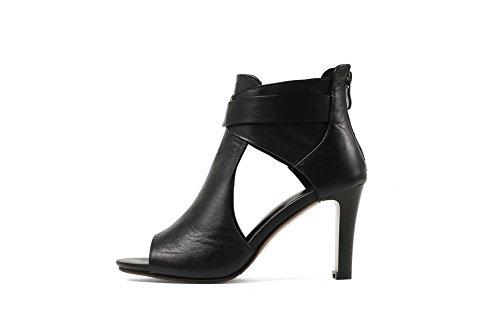 36 Noir Ouvert Noir Bout 5 EU EYR00227 Femme Aimint xPYSwIE