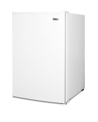 "Summit FS603 22"" Compact Upright Freezer with 5 cu. ft. Capacity Adjustable Thermostat Wire Shelves and Manual Defrost in"