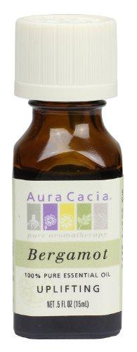 Aura Cacia Essential Oil, Uplifting Bergamot, 0.5 fluid ounce