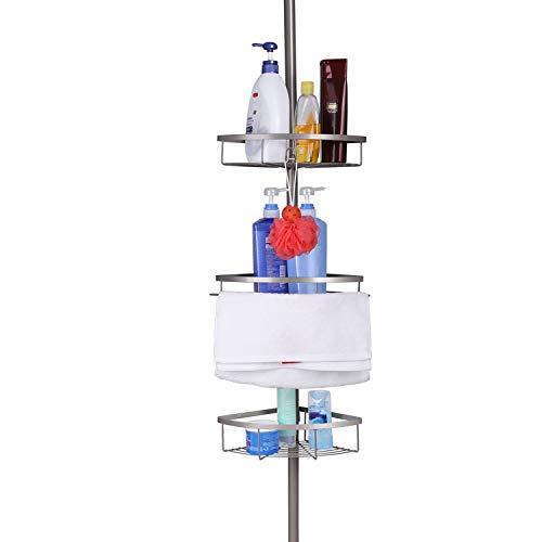 constant tension pole corner shower