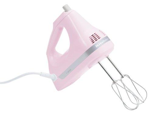 kitchenaid handmixer pink - 4