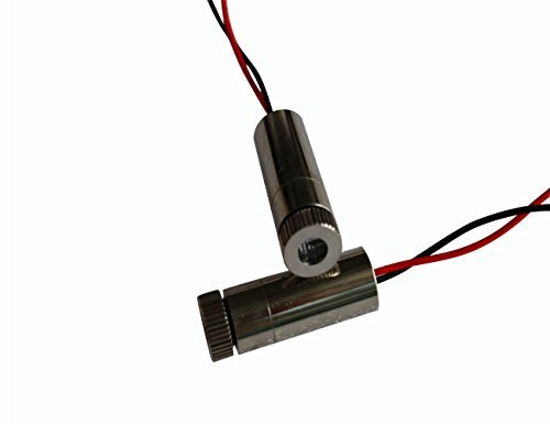 Lights88 Laser Module 650nm Red Industrial Laser 5mw Laser Diode ( Red Dot Laser)