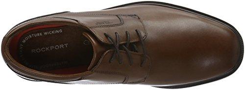Rockport Essential Details II Plain toe - Zapatos Hombre Marrón - Brown (Tan Antique Leather)