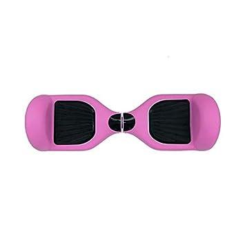 Skateflash Funda Silicona Hoverboard Rosa: Amazon.es ...