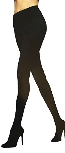 Maidenform Women's Shaping Tights Blackout, 2 Pack, Size: Large (Large Tights)
