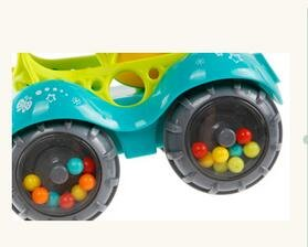 KINGSUNG Soft Rattle Car 6-12 Months Baby Puzzle 0-1-3 Hand Grasping Ball toys(color random) by KINGSUNG (Image #4)