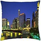 wuhandeshanbaosheng Chicago - Throw Pillow Cover Case (18 18