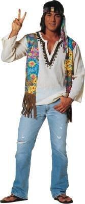 Franco Americana Novedad 49370-XL Disfraz Hippie - X-Large ...