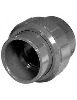 110 mm PVC-Kupplung mit O-Ring 2x Klebemuffe