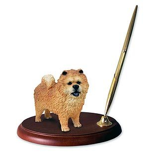 Chow Figurine - Chow Chow Pen Holder by Conversation Concepts