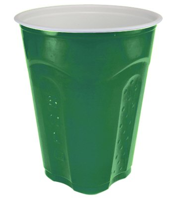 Solo Squared Cups, 18 Oz, Green, 60 Count ()