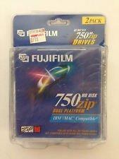 FUJIFILM - 2 x ZIP - 750 MB - storage media
