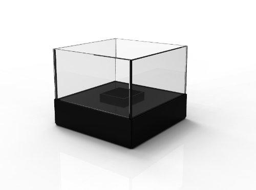Decorpro 10009 Cell Atrium Indoor/Outdoor Tabletop Firepot, Black