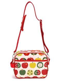 通園バッグ ショルダー 幼稚園バッグ 保育園バッグ おしゃれリンゴのひみつ(アイボリー) N0516400