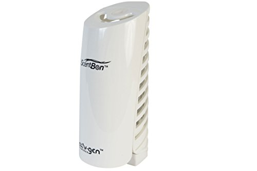 ScentBon 2037 Automatic Spray Air Freshener Dispenser, Oxygen Powered (White, Pack of 1)