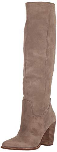 Dolce Vita Women's Kylar Knee High Boot, Dark Taupe Suede, 8 M US (Dolce Vita Boots)