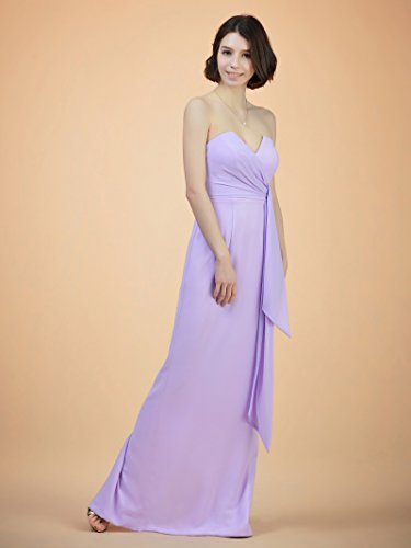 Dress Maxi Evening Party Dresses Bridesmaid Dress Purple Split Elegant Alicepub Back qgBOnOP