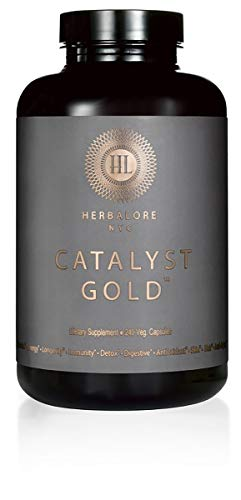 Herbalore - Natural & Vegan Catalyst Gold Superfood Supplement (for Immunity, Digestion, Hair + Skin) by Herbalore (Image #1)
