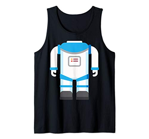 Astronaut Costume Halloween Art Funny Space Explorer Gift Tank Top]()