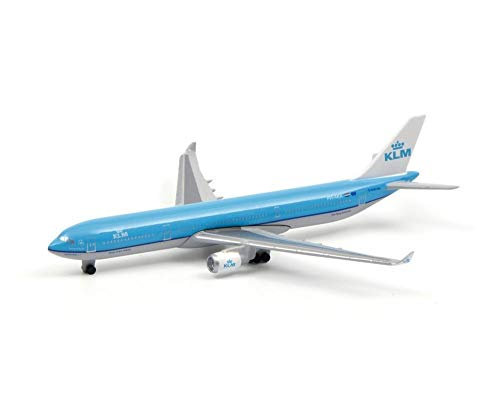 Schuco 403551690 KLM Airbus A330-300 1:600 Scale Blue / White
