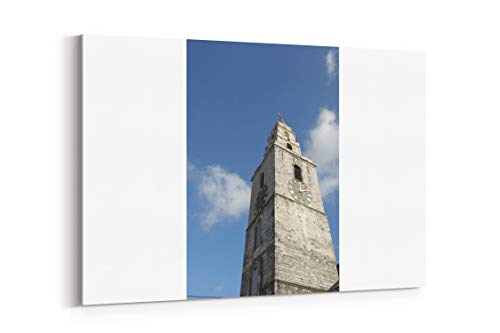 Bell Clock Tower and Shandon Bell in Ireland - Canvas Wall Art Gallery Wrapped 18
