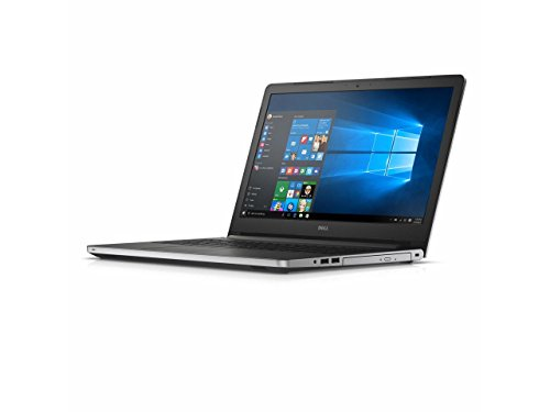 Newest Dell Inspiron 15.6-inch 5000 Series HD Laptop PC, AMD Quad Core A10-8700P 1.8GHz, 12GB DDR3 SDRAM, 1TB HDD, DVD +/- RW, Radeon R6 Graphics, WebCam, Bluetooth, HDMI, WiFi, Windows 10-Silver